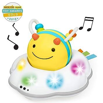 eac35486873bb Amazon.com : Skip Hop Explore & More Follow-Me Bee Crawl Toy, Yellow ...