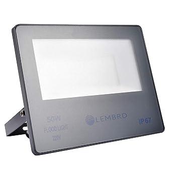 Foco LED 50W, Reflector Foco Proyector LED Súper Brillante de ...