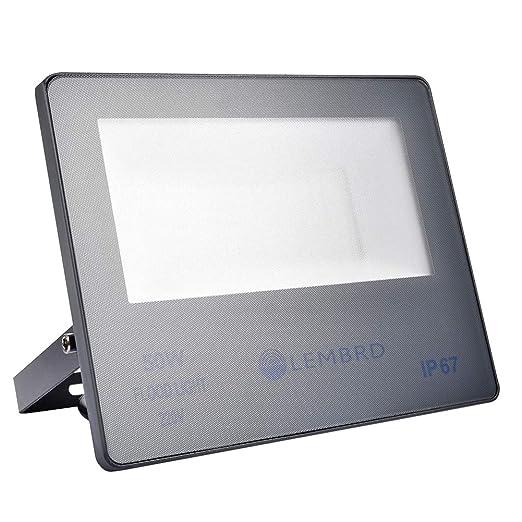 Foco LED 50W, Reflector Foco Proyector LED Súper Brillante de 4000LM para Exteriores, Impermeable IP67 6000K Blanco Frío, para Jardín, Garaje, Sótano, ...