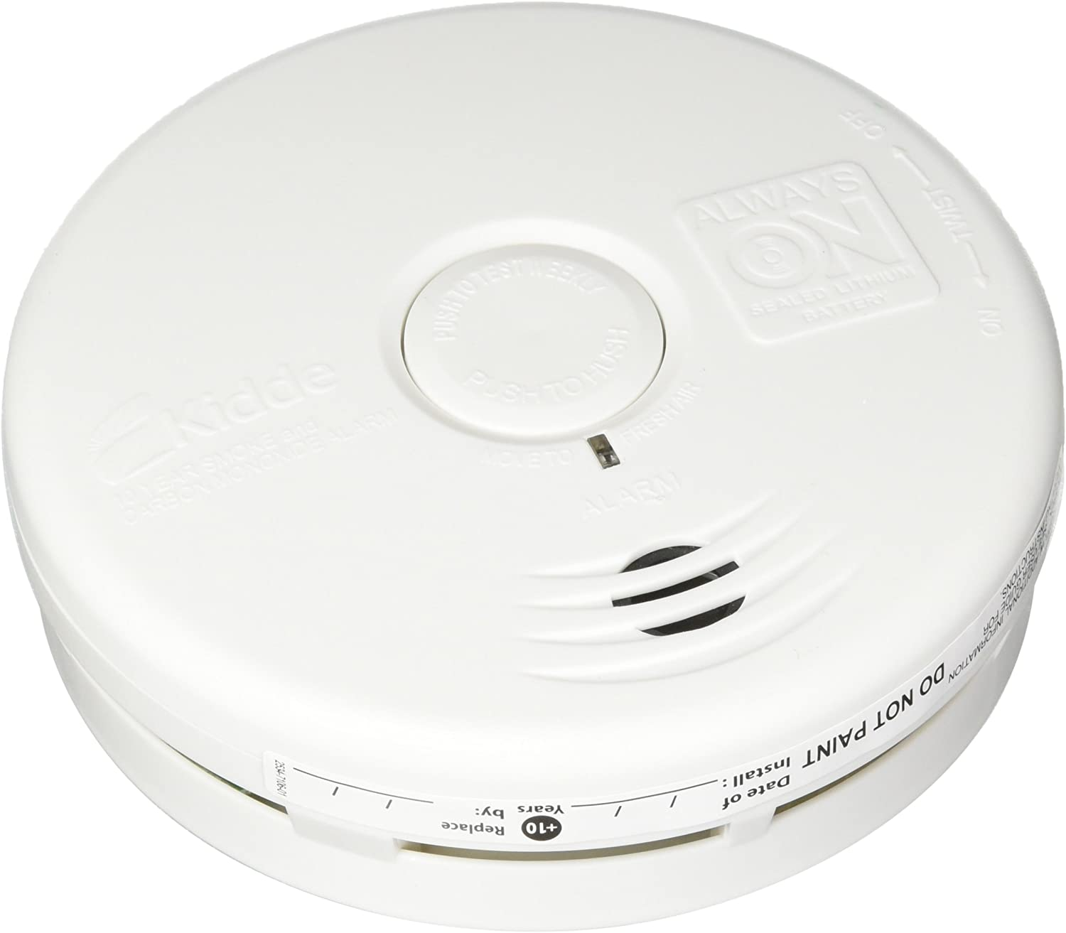 Kidde P3010k Co Battery Operated Combination Carbon Monoxide And