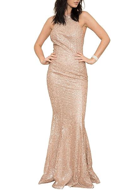 Geegeebae Latiste Womens Sparkly Mermaid Evening Gown