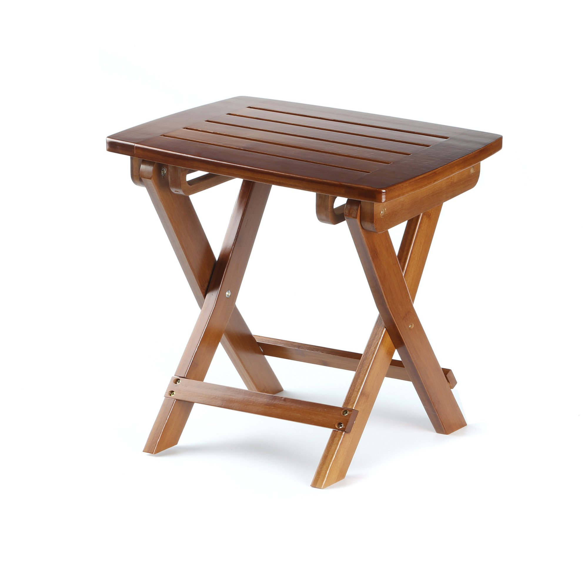 Wondrous Details About Etechmart Eco Friendly Bamboo Folding Stool For Shaving Shower Foot Rest 14 Pabps2019 Chair Design Images Pabps2019Com