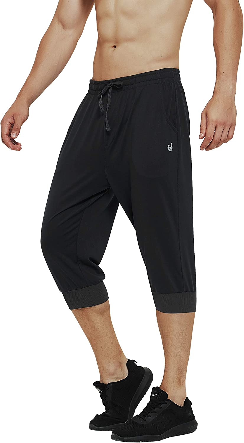 Men/'s Casual Sports Shorts Gym Training Running Trousers Workout Jogging Pants