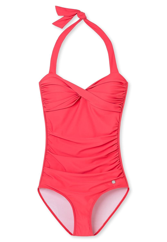 Schiesser Damen Badeanzug pink 155903 Gr. 46 Cup B