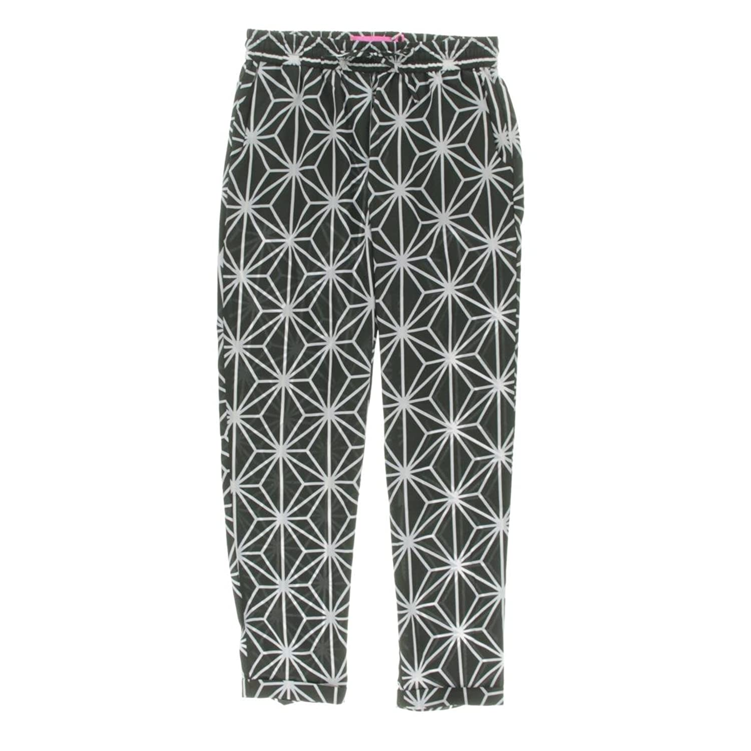 The Macbeth Collection Womens Pattern Tapered Casual Pants