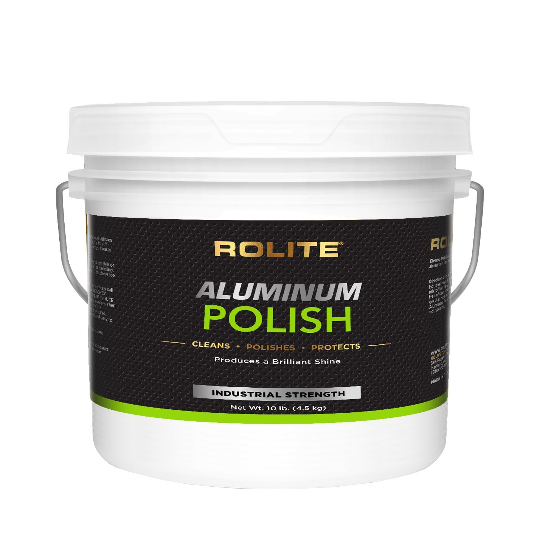 Rolite Aluminum Polish (10lb) for All Aluminum & Bare Metal Surfaces - Canoes, Jon Boats, Pontoons, RVs, Diamond Plate, Aluminum Non-Coated Wheels
