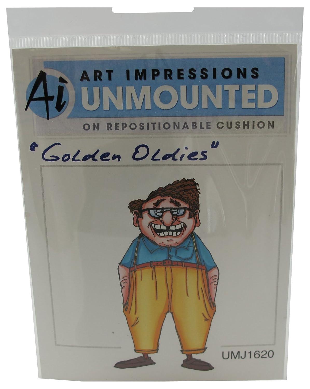 Art Impressions Melvin Rubber Stamp 206717