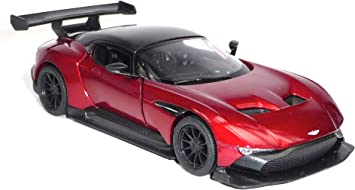 Generic Aston Martin Vulcan Collector S Model 12 6 Cm Dark Red Metallic Kinsmart Amazon De Spielzeug