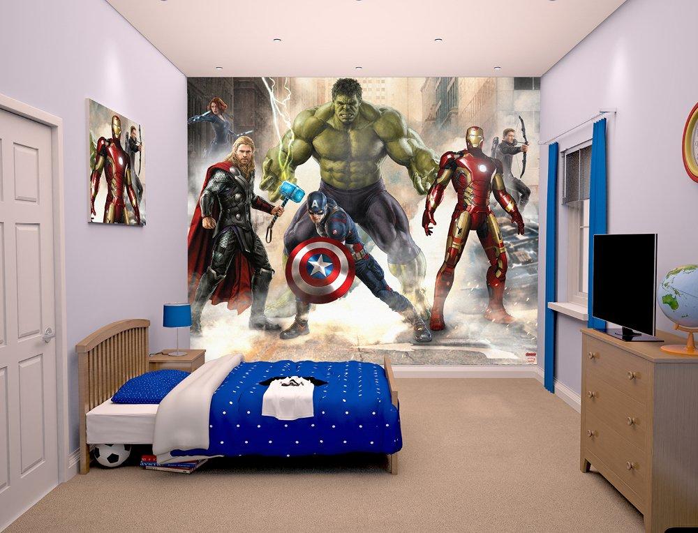 Walltastic The Avengers Age of Ultron Wallpaper Mural: Amazon.co.uk ...