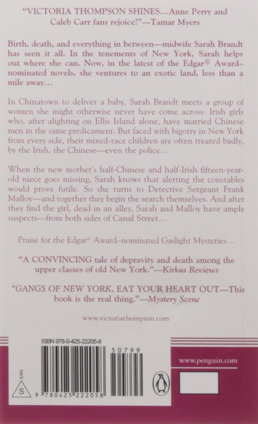 Amazon.com: Murder in Chinatown (A Gaslight Mystery) (9780425222058 ...