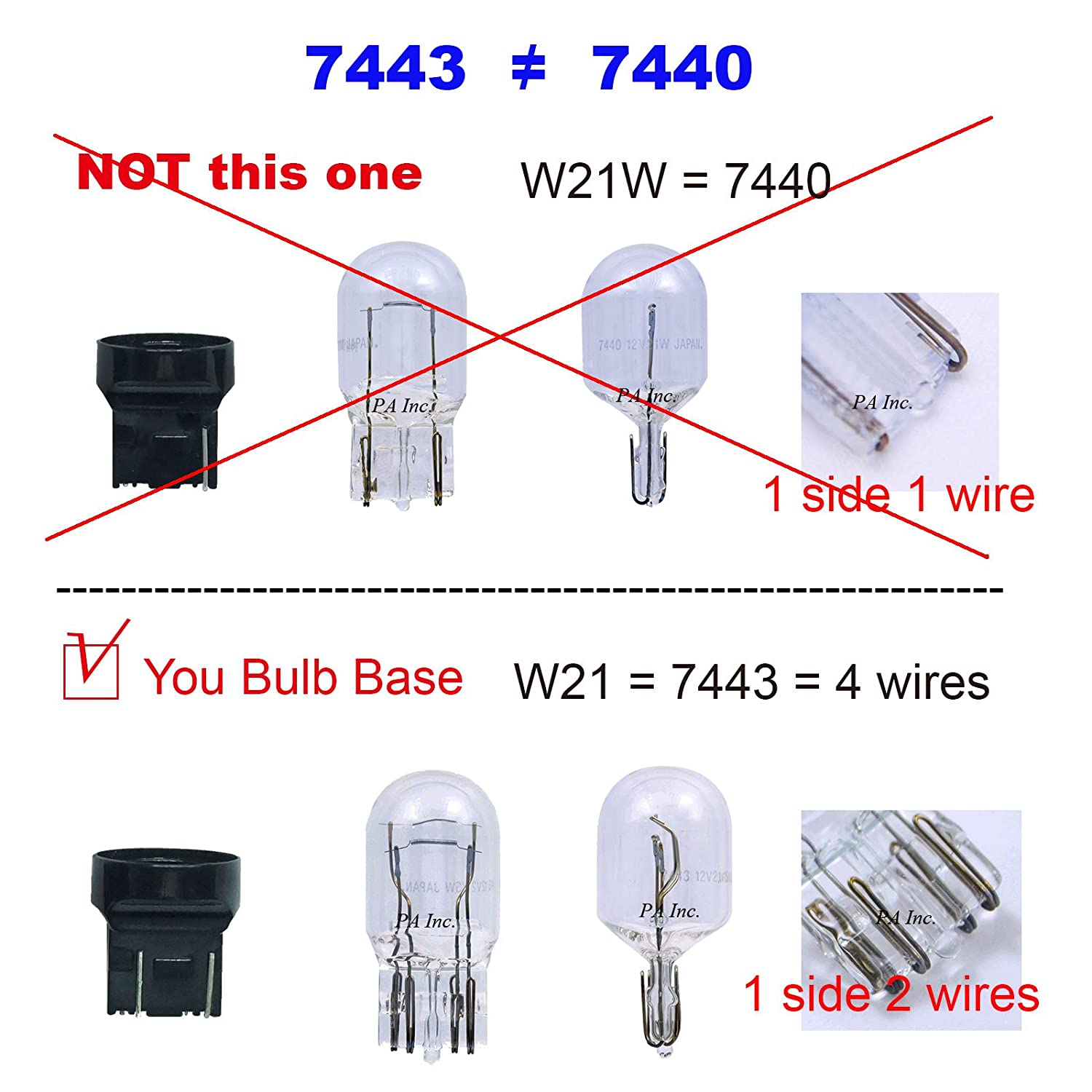 Pa 1 Set Led Lights Load Resistor Adapter Fix Hyper H11 Wiring Harness Flashing Rapid Blinking Canbus Error Code Eliminator Warning Canceller T20 7443 Double