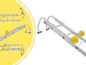 Leogreen - Gancho de Escalera de Techo, Accesorios para Escalera de Techo, 0,93 Metro(s), EN 131, Carga máxima: 150 kg: Amazon.es: Bricolaje y herramientas