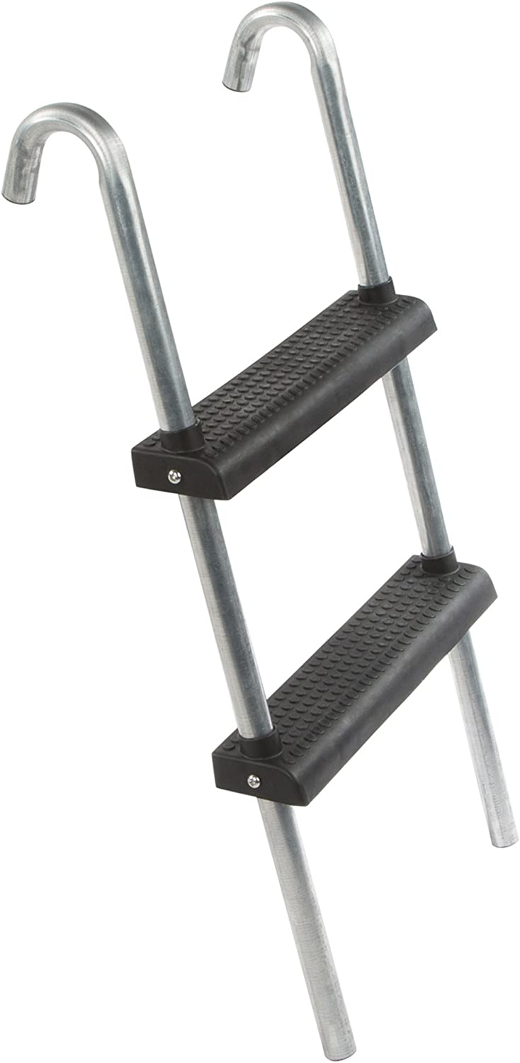 Ultrasport Escalera para cama elástica, escalera estable con 2 ...