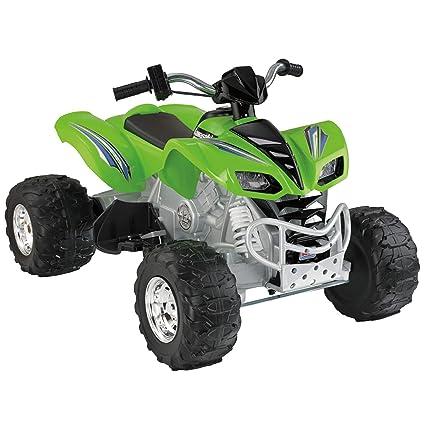 amazon com power wheels kawasaki kfx green toys games rh amazon com Power Wheels Kawasaki KFX Ninja Target Power Wheels Kawasaki KFX
