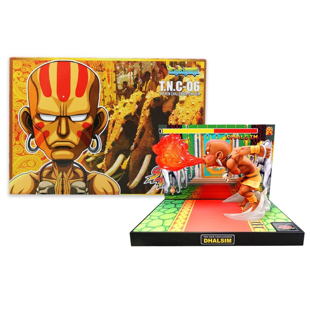 Tier1 Accessories Dhalsim Street Fighter Fully Licensed LED Light and Sound Figure - PlayStation 3;PlayStation 2;PlayStation;