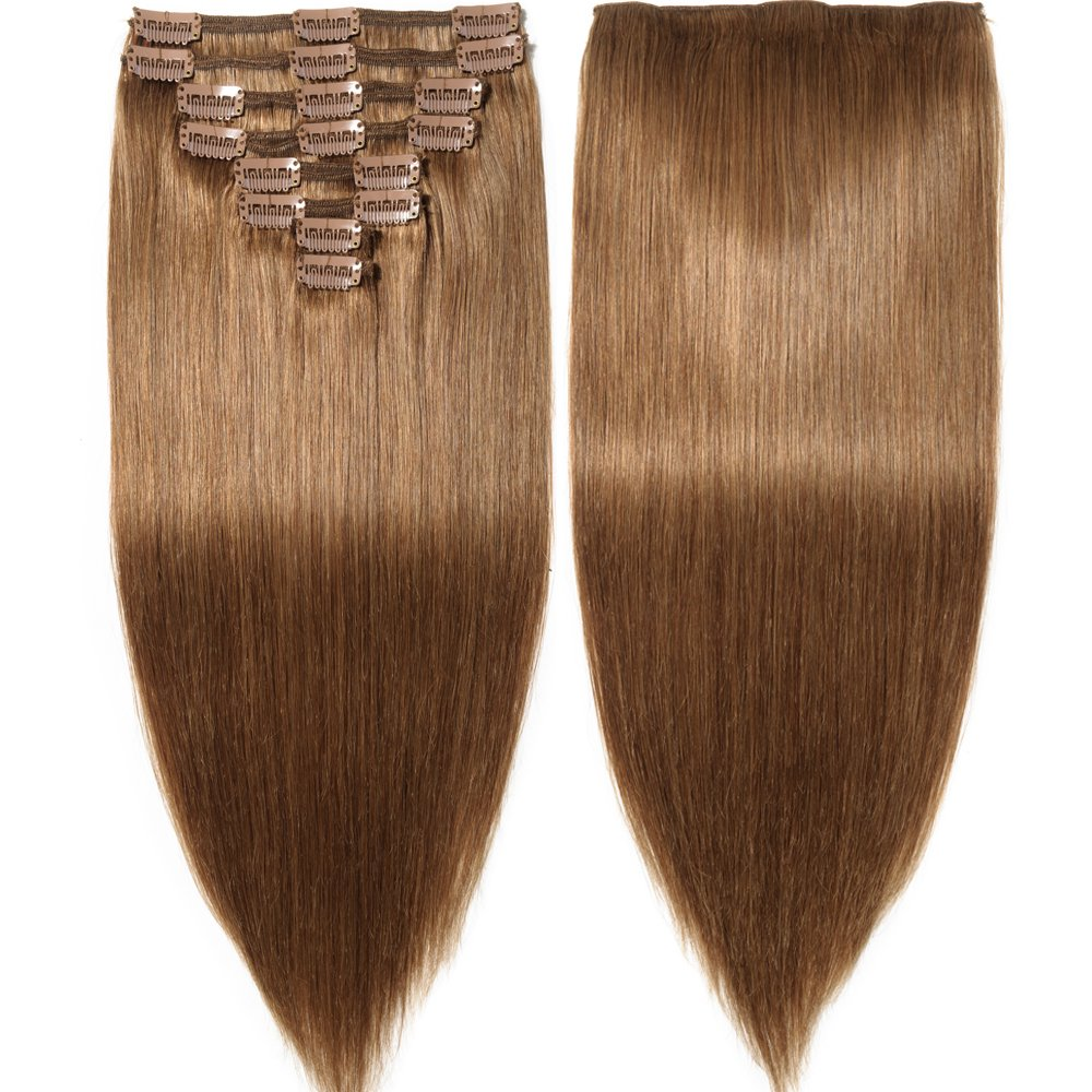 Amazon S Noilite Clip In Human Hair Extensions 100 Real Remy