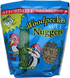 Bird Products/Food Woodpecker Suet Nuggets (6 Units), Small