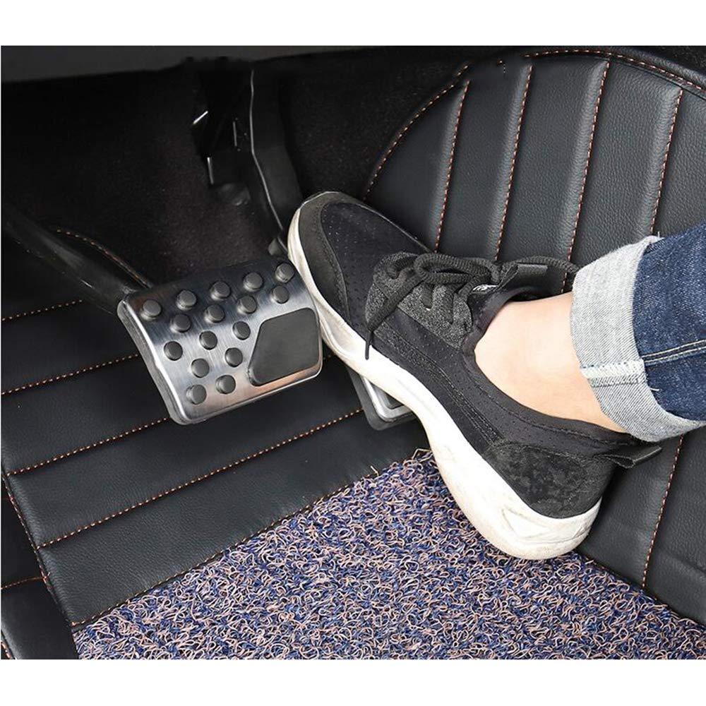 TAABOBO P/édale de Repos de Pied de Frein Accessoire de Voiture en Acier Inoxydable pour Dodge Charger//Chrysler 300C 2006 2007-2016 modifi/ée Couverture