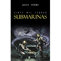 Vinte Mil Léguas Submarinas (Portuguese Edition) book cover