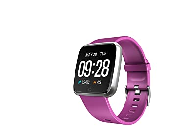 TDOR Black Friday 2019 Smartwatch Whatsapp Mujer Android GPS Música, Reloj Deportivo, Color Morado