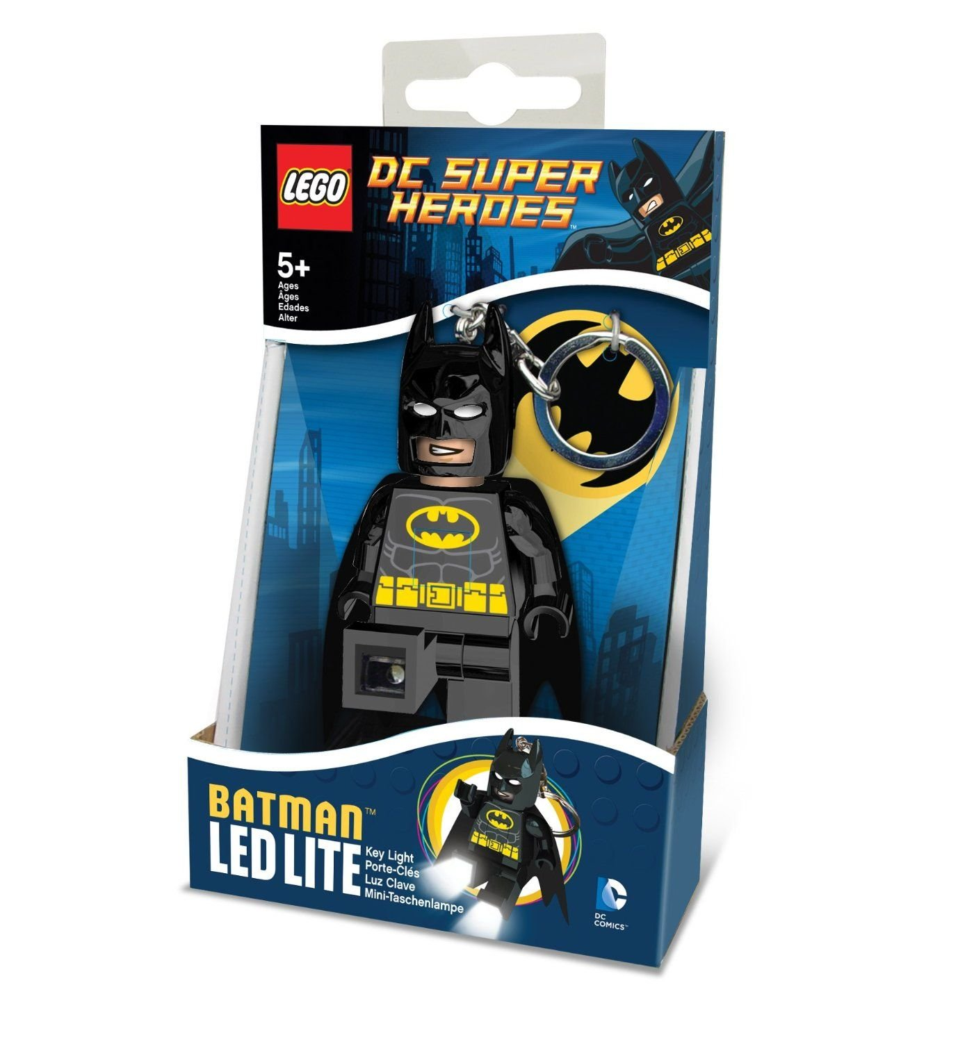 LEGO Llavero Batman LedLite DC Comics Super Heroes: Amazon ...
