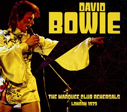 The Marquee Club Rehearsals London 1973 : David Bowie: Amazon.es ...