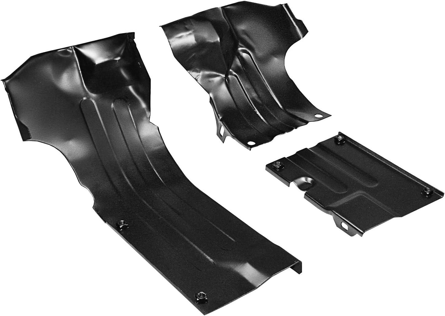 IAP Performance AC119355 Heater Channel Tin Kit (Black for VW Beetle)