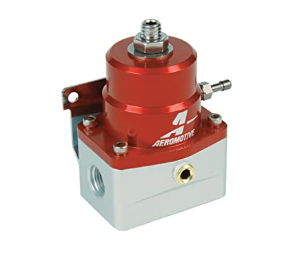 Aeromotive 13109 Regulator, A1000-6 Injected Bypass, Adjustable, EFI, (2)  -6 inlets, (1) -6 return