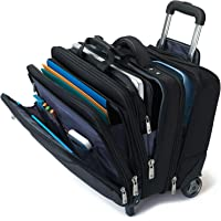 Samsonite 46315 Business Special Mobile Office Briefcase, Black, 41 Centimeters
