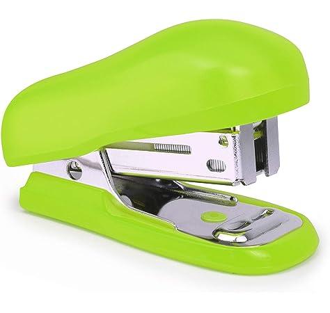 Rapesco Bug - Mini grapadora con caja de 1000 grapas 26/6, color verde: Amazon.es: Oficina y papelería
