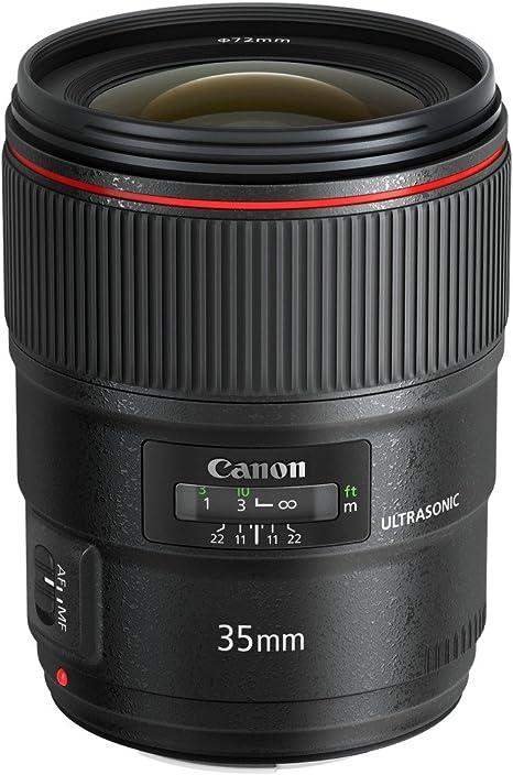 Canon EF 35mm f/1.4L USM II - Objetivo para cámara réflex Canon ...