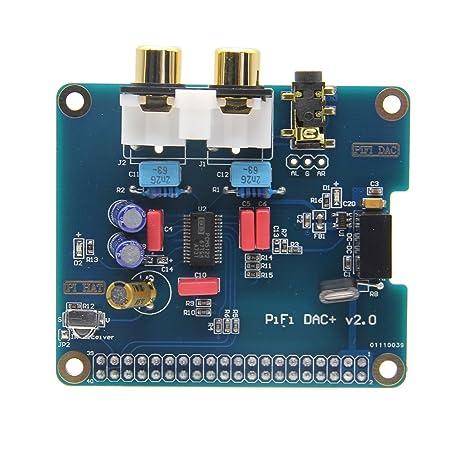 Raspberry Pi 2 modelo B/2B/B + i2S Interface PIFI Digi DAC + ...