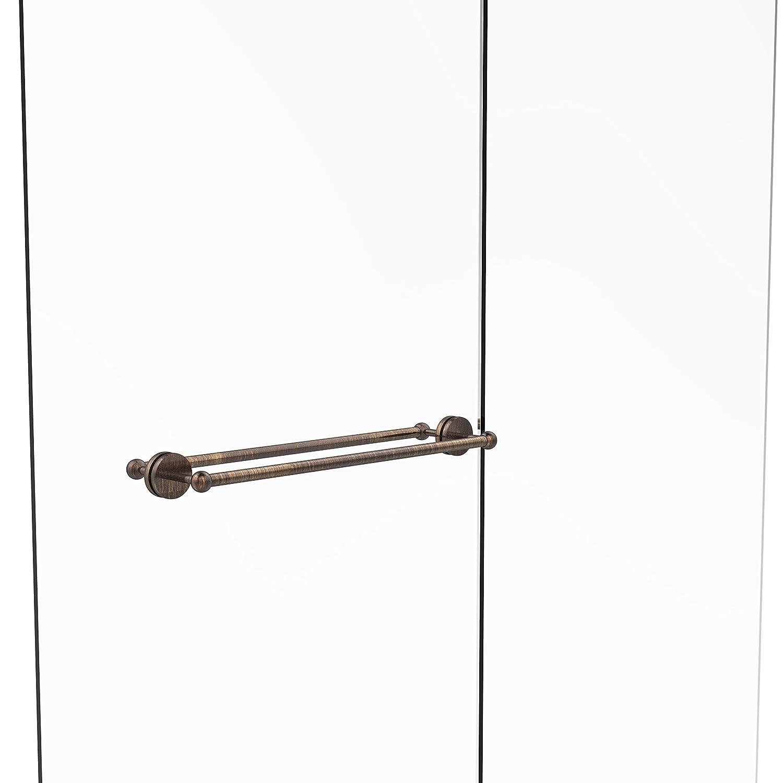 Allied Brass P1000-41-BB-24-VB Prestige Skyline Collection 24 Inch Back Shower Door Towel Bar Venetian Bronze