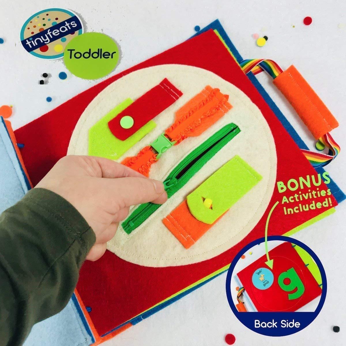 Amazon.com: Premium Quiet Book for 3 Year Old Boys - Kids ...