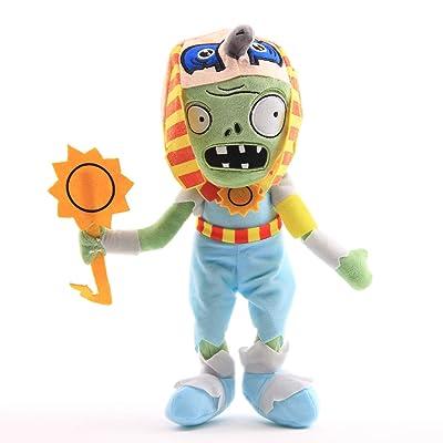 uiuoutoy Plants vs Zombies Ra Egyptian Zombie Plush 12'': Toys & Games