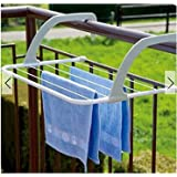 Lucoo Drying Rack, Indoor/Outdoor Easy Install Folding Clothes Drying Rack-Hanging Over The Door or on Bathroom…