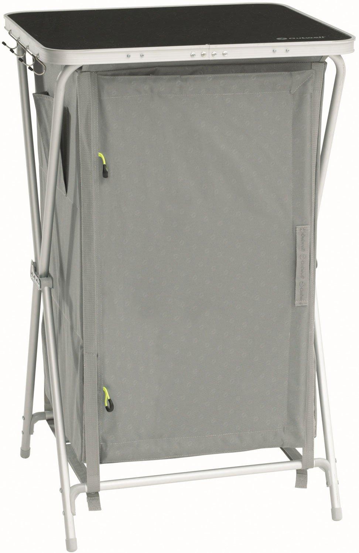 Outwell 530089 Schwarz, Grau 3ripiani Faltbar Schrank für Camping