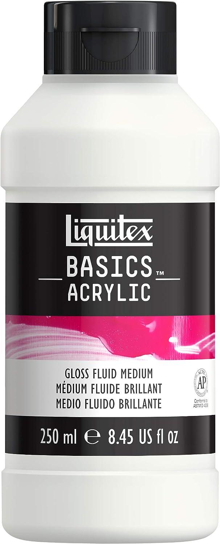 Liquitex BASICS Gloss Fluid Medium, 250ml