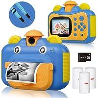 BITIWEND Cámara de Impresión para Niños, Camara Infantil Instantanea, con Cordón de Cámara, Tarjeta De 16GB, 3 Rollos de…