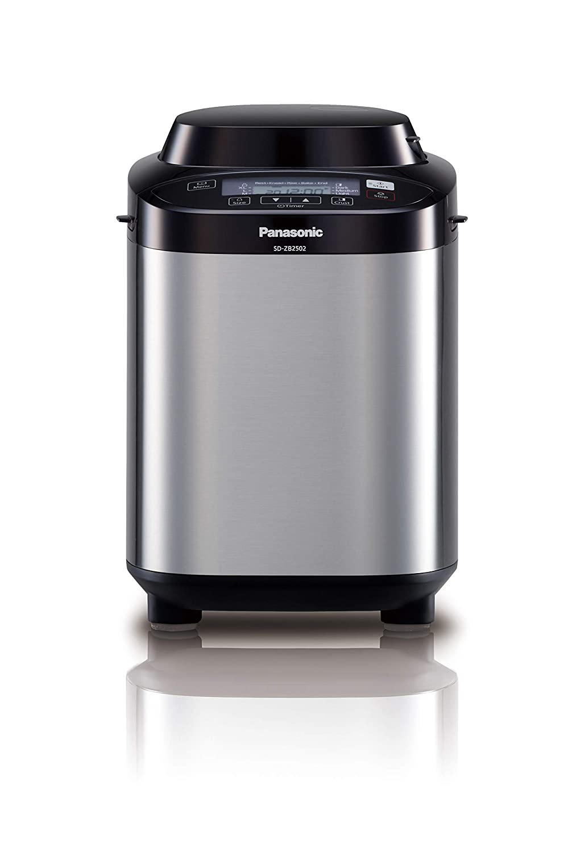 Panasonic SD-ZB2502BXC - Panificadora de acero inoxidable, con ...