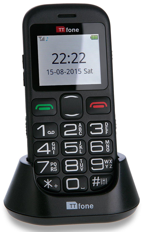 Ttfone Tt850 Jupiter 2 Big Button  Sim Free Mobile Phone