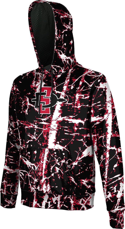 ProSphere San Diego State University Boys Hoodie Sweatshirt Distressed