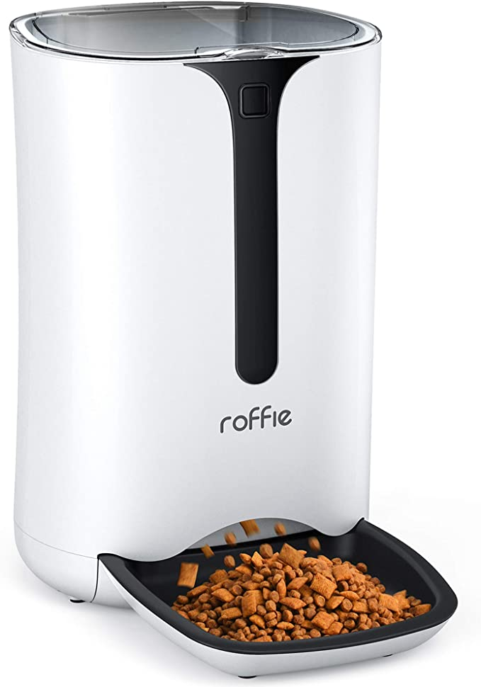 Automatic Cat Feeder, Roffie Dog Food Dispenser