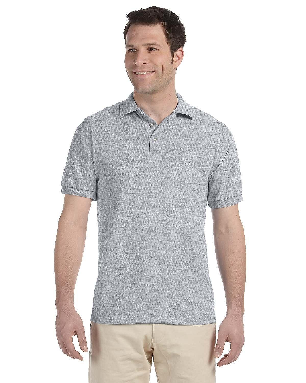 Jerzees 56-Ounce Jersey Knit Sport Shirt, White