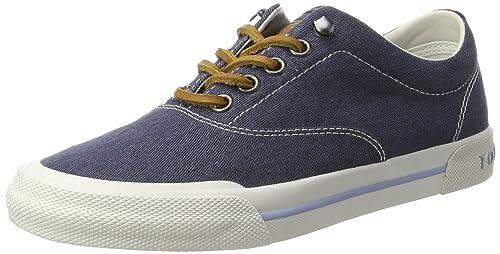 WMN Y1285ARMOUTH 1B, Zapatillas para Mujer, Azul (Tommy Navy), 40 EU Tommy Hilfiger