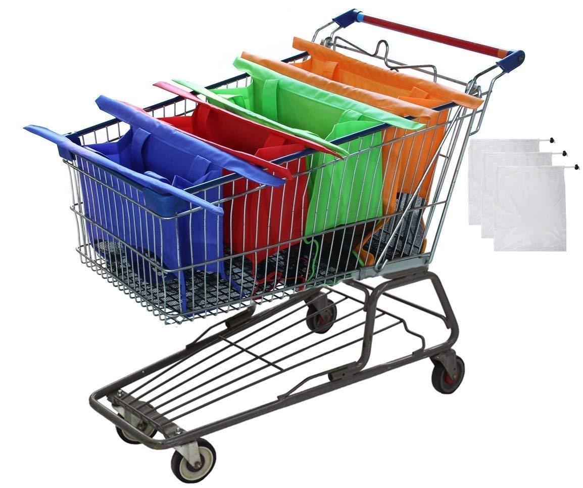 Bolsas De Organizacion Para Supermercados,diferentes Colore