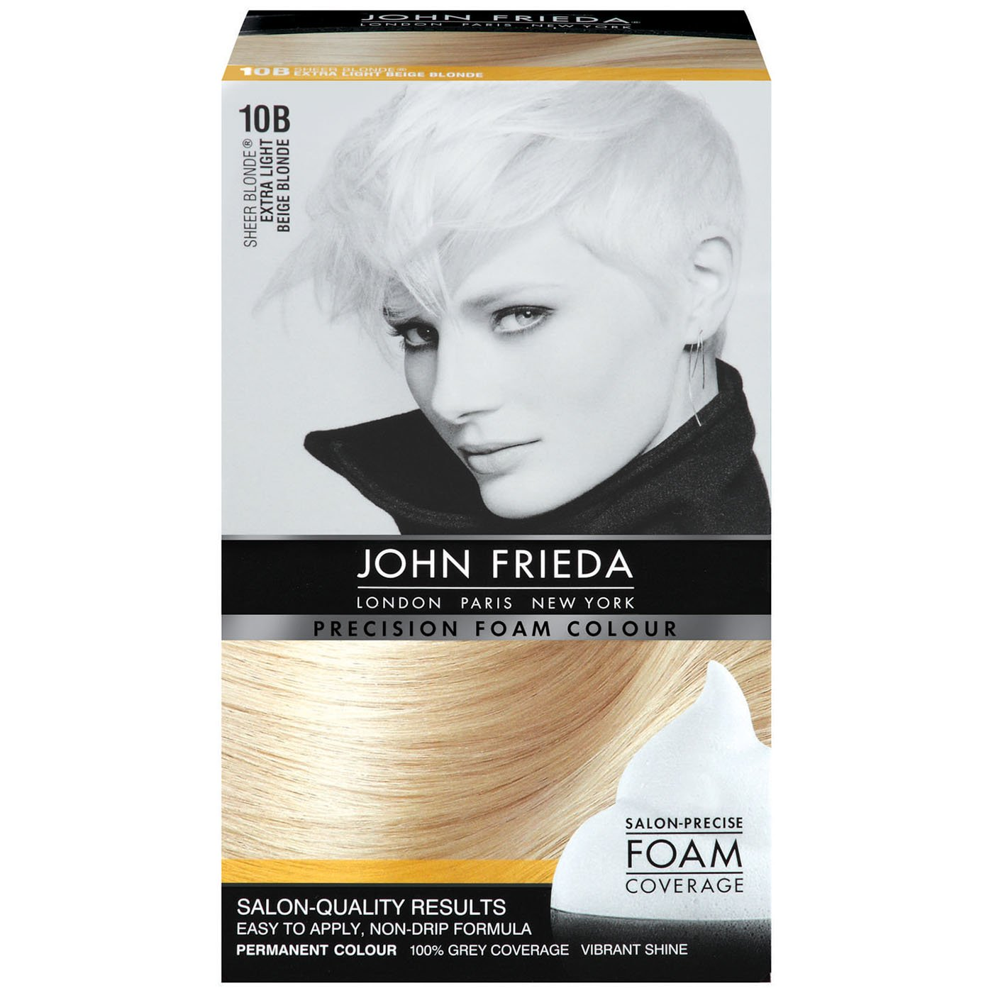 Amazon John Frieda Precision Foam Colour Extra Light Beige