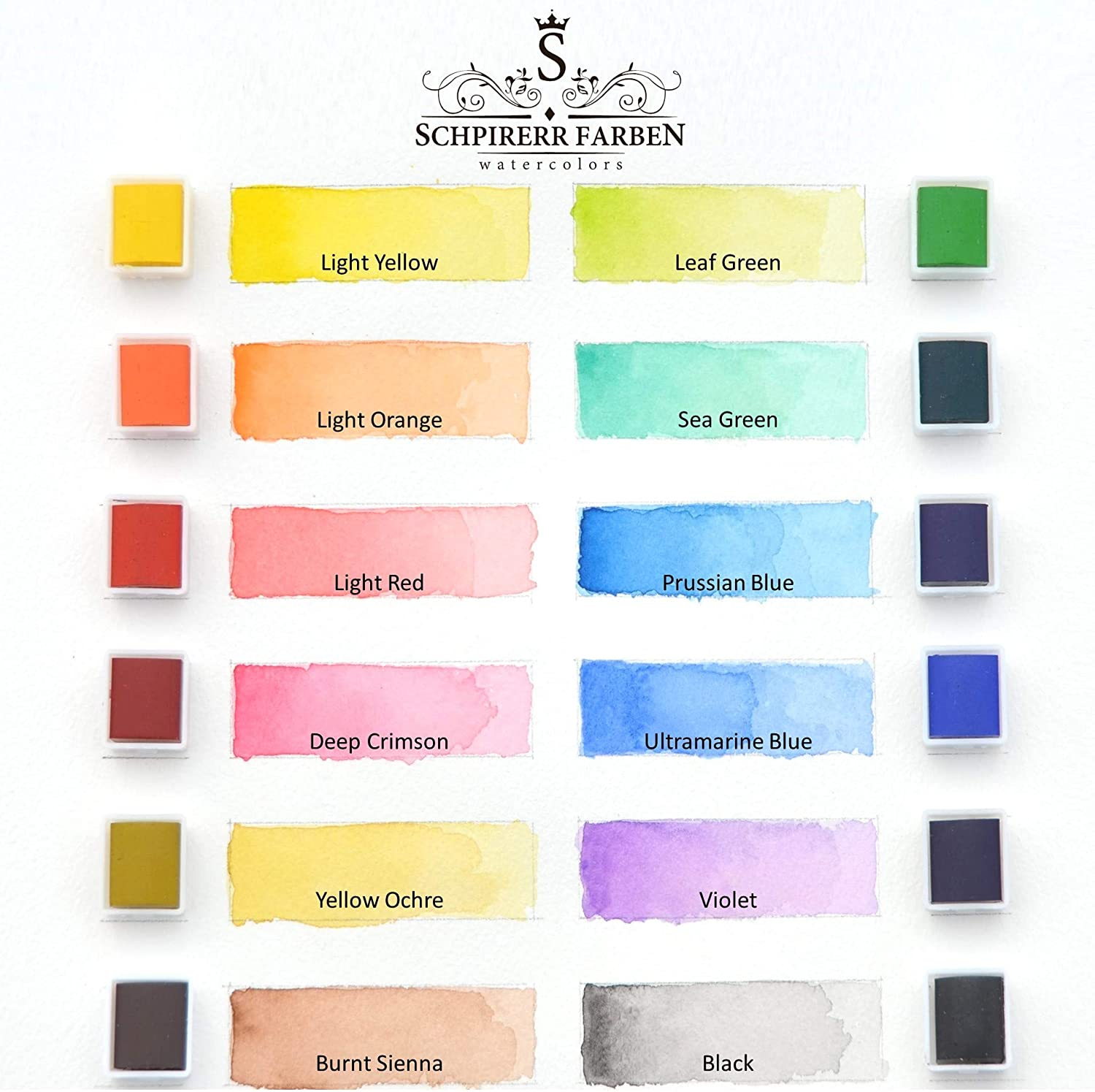 Get a bundle of SCHPIRERR FARBEN 72 Colored Pencils and 12 Watercolor Set for a reduced price
