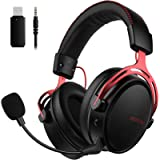 Mpow Air 2.4G Wireless Gaming Headset for PS5/PS4/PC Computer Headset with Dual Chamber Driver,Upto 17 hours of Use…