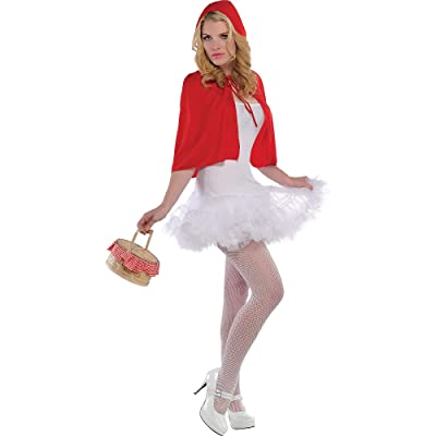 Amscan Red Riding Hood Cape, Multicolor, Medium: Toys & Games